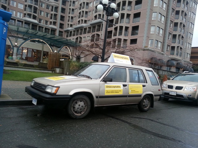 Mar7 Car at the MLA Pray Breakfast by Greater Victoria Coalition to End Homelessness, via Flickr