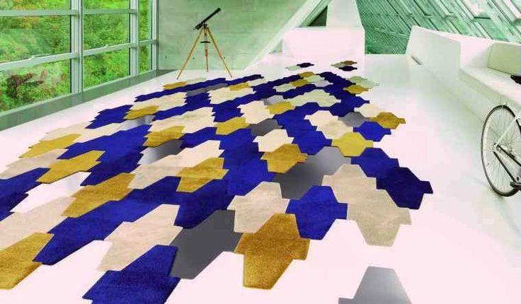 VORWERK CARPET - self-adhesive carpet tiles