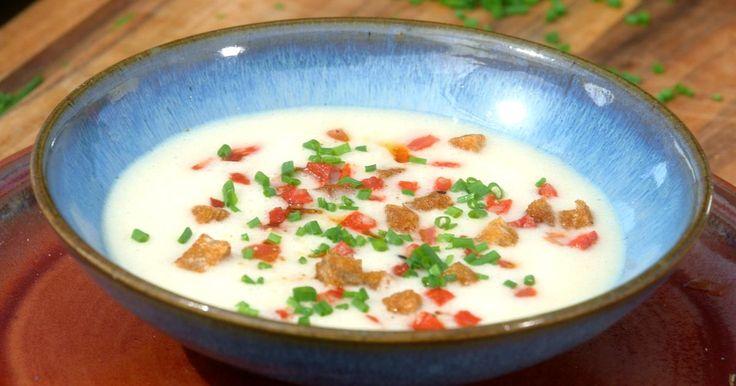 Gaspacho de haricot lingot au chorizo