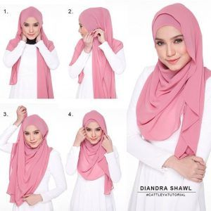 Tutorial Hijab Pashmina Simple - http://hijabtuts.com/