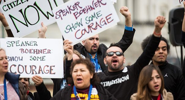 House Democrats plan to launch a discharge petition on Wednesday in a long-shot effort to force a floor vote on immigration reform – their latest move to pressure Republicans to advance an overhaul this year. Already this year, Democrats have tried the procedural gambit to compel votes on raising the federal minimum wage and extending unemployment...