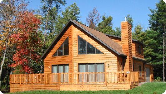 10 best guest house images on pinterest arquitetura for Log cabin kit homes victoria