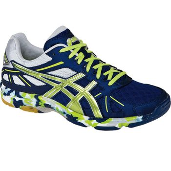 Men's ASICS Gel-Flashpoint volleyball shoes are flashy & feather light