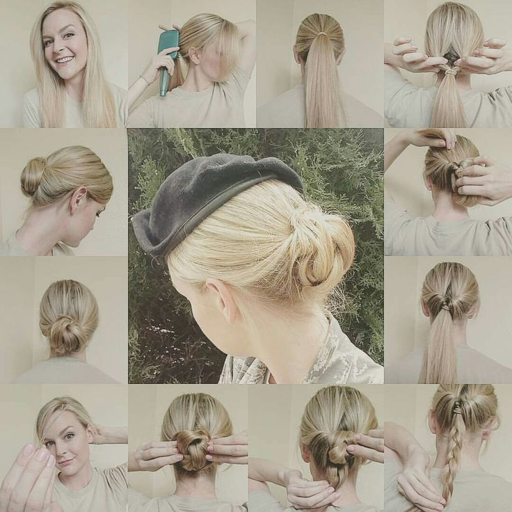 Flippy Bun - updo (great for military