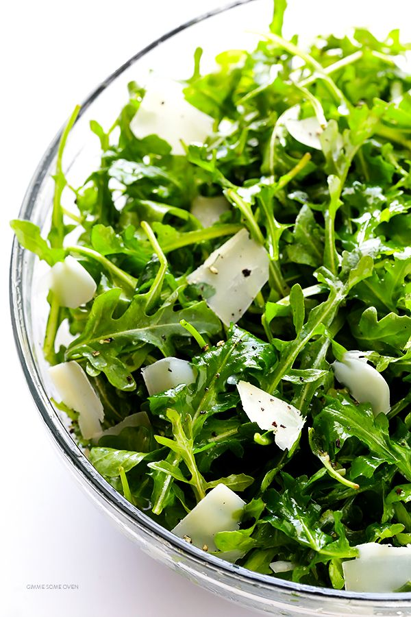 Arugula Salad With Parmesan, Lemon And Olive Oil http://www.changeinseconds.com/argula-salad-with-parmesan-lemon-and-olive-oil/ #glutenfree