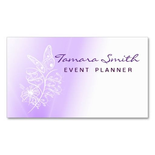 1000 images about Event Planner Business Card Templates