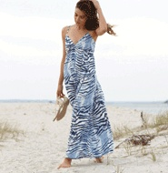 Easy Going Maxi Dress~ Love the print, love the length!!