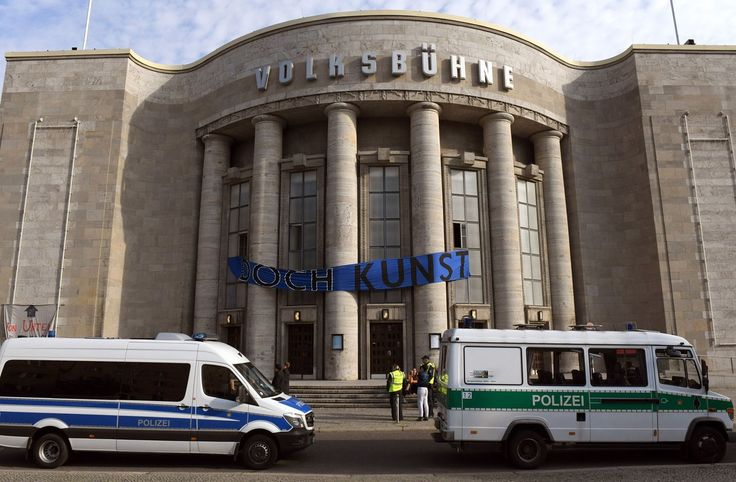 Police Swarm the Volksbühne Theater in Berlin to Remove Anti-Gentrification Art Collective http://lnk.al/5m6G #artnews