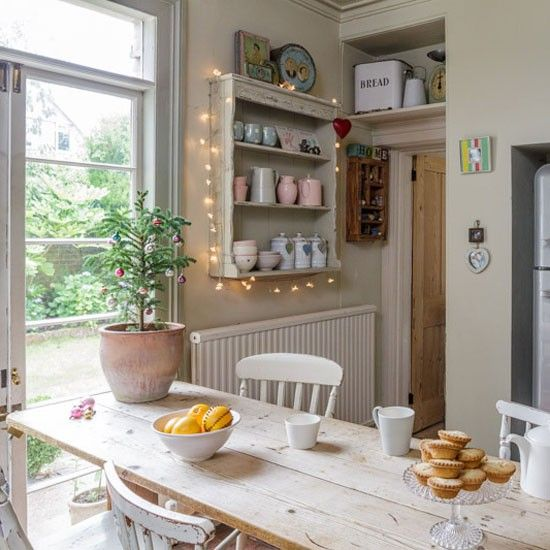 Christmas Country Kitchen | House to Home
