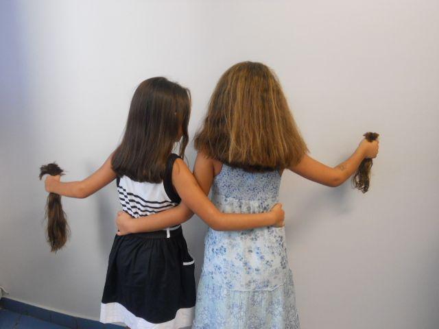 Όταν τα έργα δημιουργούν τη μεγαλύτερη αγκαλιά αγάπης… τα λόγια περιττεύουν! http://www.hos2.gr/hair-for-hope/