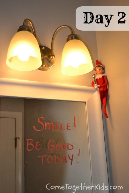 Come Together Kids: Elf on the Shelf Ideas ~ Week One (2012)