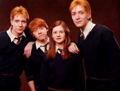 La famille Weasley - Harry Potter