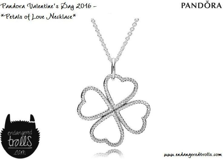 Pandora Petals of Love Necklace