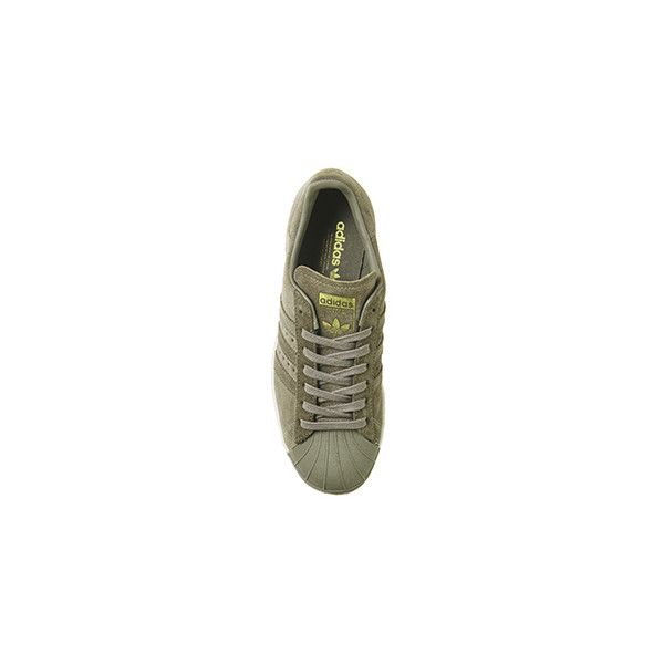 Adidas Superstar 80s Trace Cargo Suede ❤ liked on Polyvore featuring shoes, pumps, suede leather shoes, suede shoes, adidas pumps, adidas shoes and eighties shoes