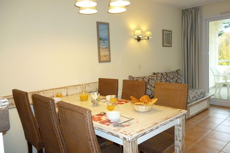 Salle à manger de notre résidence Goélia Royal Park à La Baule