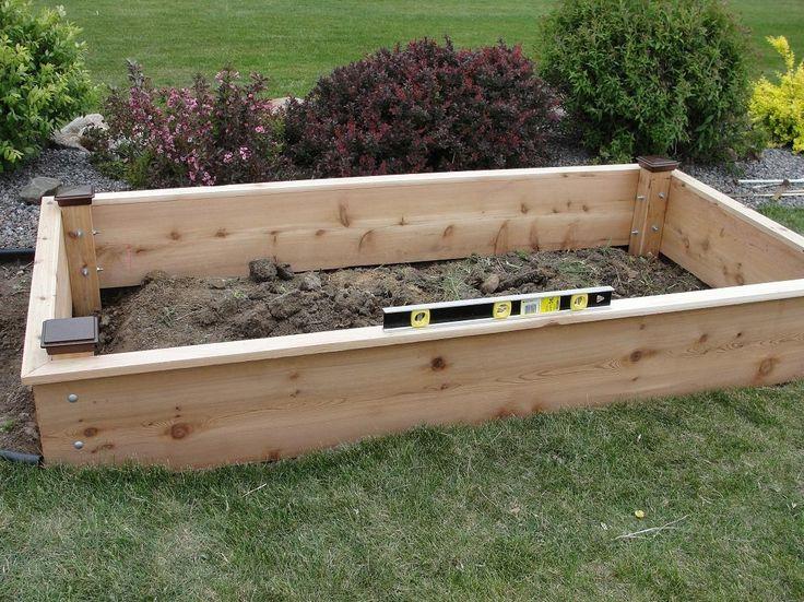 top raised bed garden plans in cedar raised garden bed plans for with regard to garden