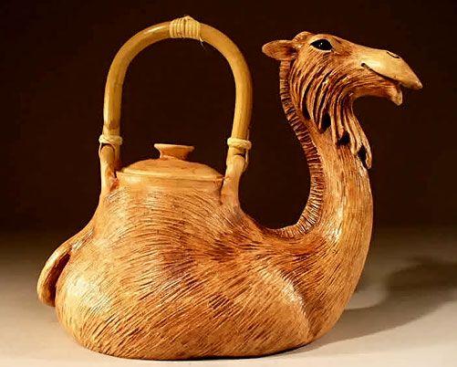 Seems like a tea pot a certain cousin of mine might like. Lol.