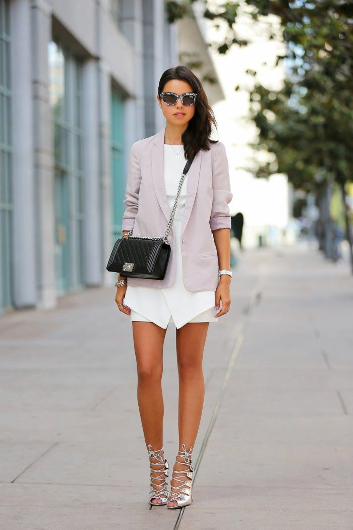 metallic silver lace up sandals with chic outfit