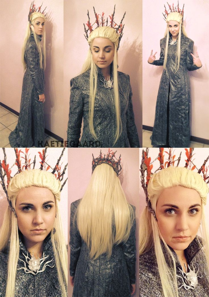 I know this Thranduil cosplayer on Instagram. She's super sweet and makes the most amazing costumes!