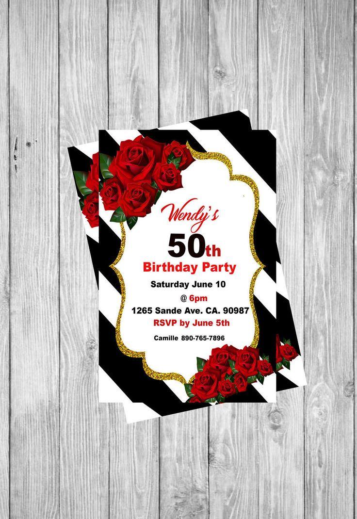 12 best printable invitations images on Pinterest | Printable ...