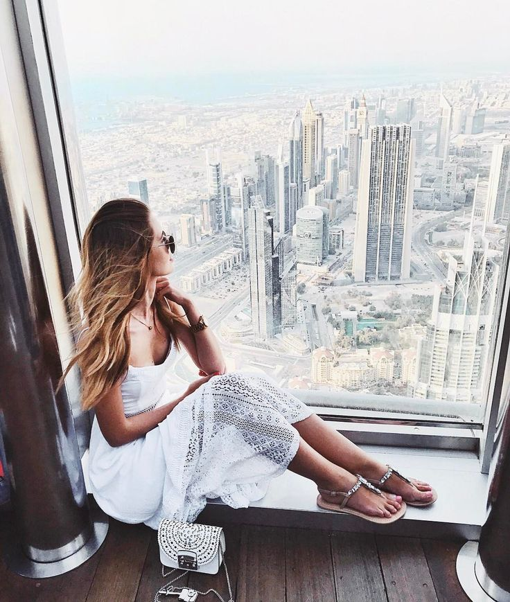 "9,329 Likes, 57 Comments - Tatiana Vasilieva (@tattivasilieva) on Instagram: ""On top of the world @atthetopburjkhalifa ! All the other skyscrapers look so tiny compared to it!…"""