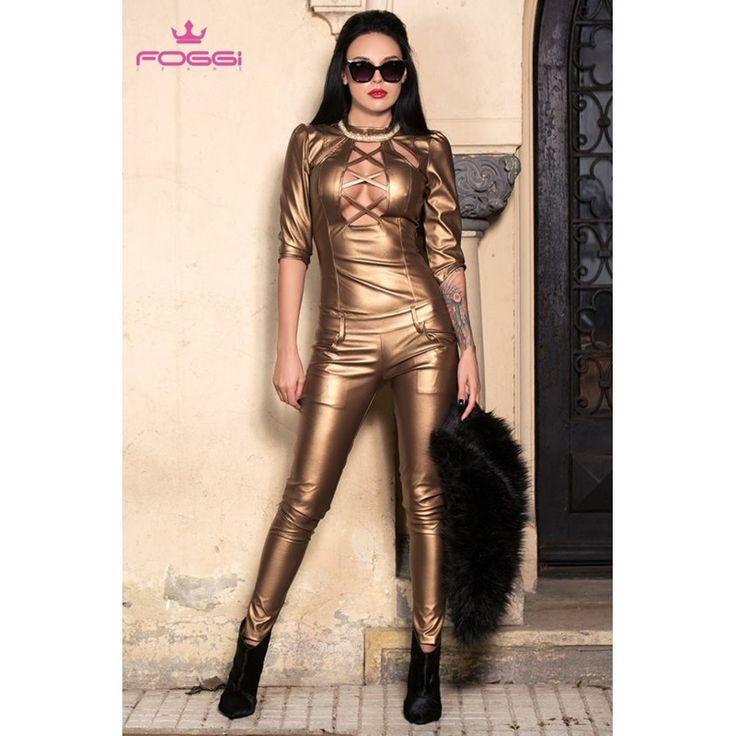 SALOPETA DAMA DANCING GOLD MULATA DIN COLECTIA FOGGI REBELLION - Morelli Design