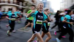 Participants in this year's HBF Run For A Reason in Perth today, Sun'. Buy or browse all images at wespix.com.au. PICTURE: NIC ELLIS   THE WEST AUSTRALIAN. TWA-0045174 © WestPix