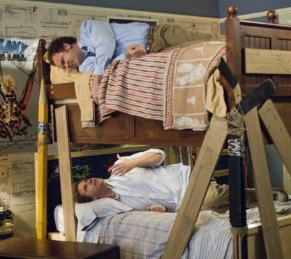 Image result for bunk beds step brothers gif