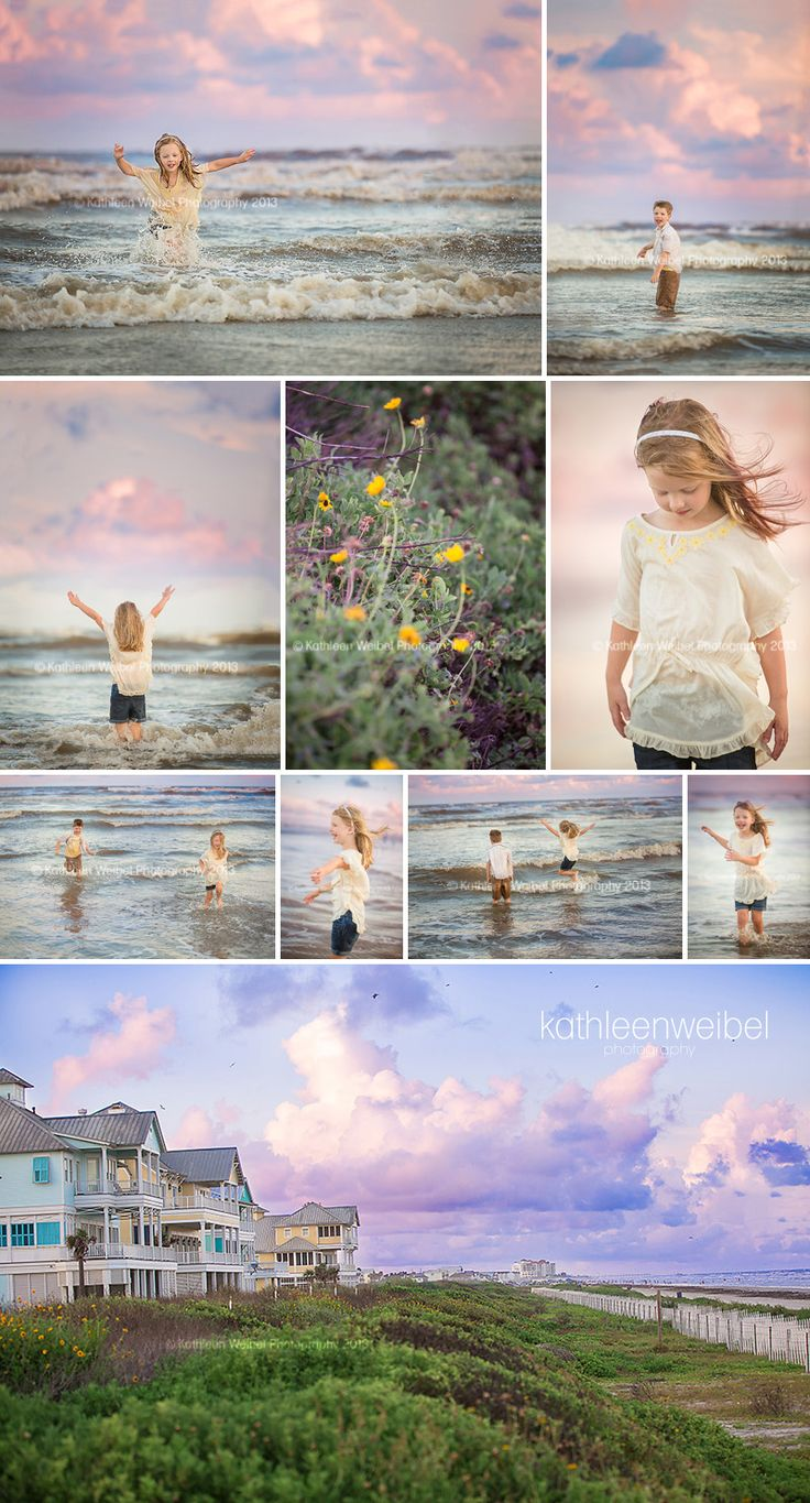 Kathleen Weibel Photography - League City Photographer: Lovin' Summer | Galveston Family Photographer
