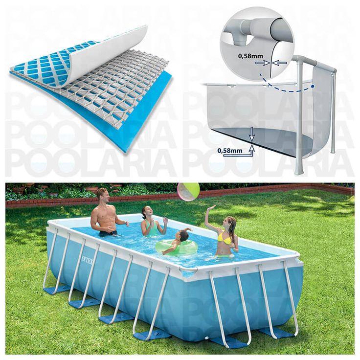 Detalles piscina Intex Prisma Frame