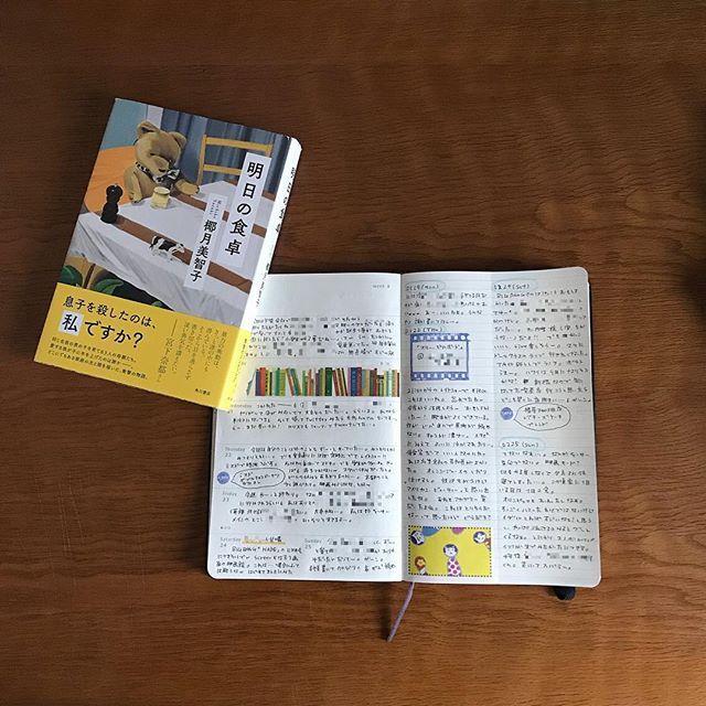 elmo_coffeeすいません、先ほどの一端削除してあげ直しました(^◇^;) #モレスキン #読書 #明日の食卓 椰月美智子#エルモ図書20182018/03/01 07:15:32
