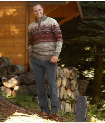 Pantalon Velours Stretch Confort #travel #voyage #atlasformen #formen #discount #shopping #ootd #outfit #formen #hommes #man #homme #men #noel #christmas #noel2016 #christmas2016