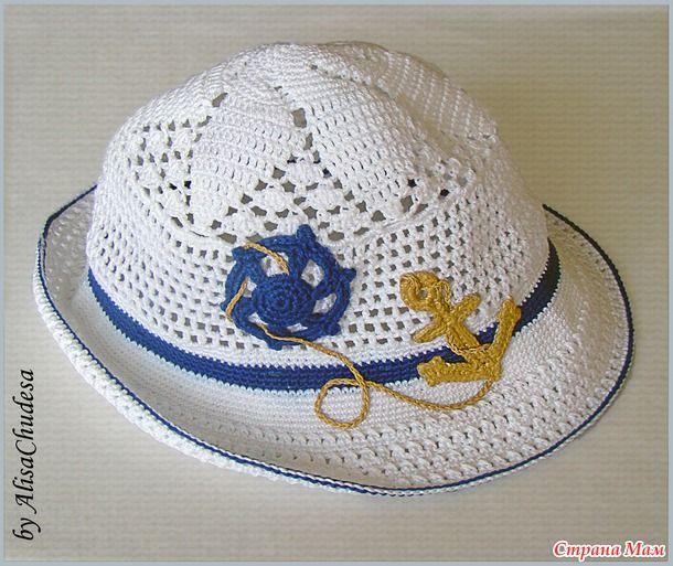 Матросская шляпка