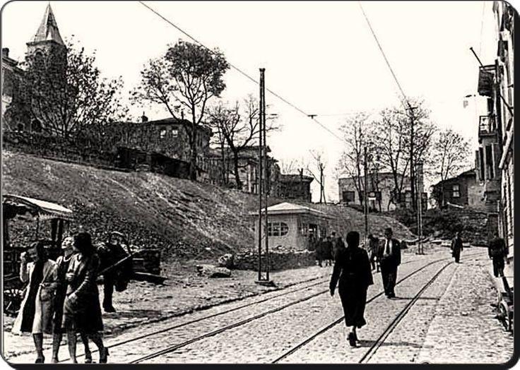 Kadıköy - Altıyol - 1946 kurbağalı dereden boğaya çıkış yolu