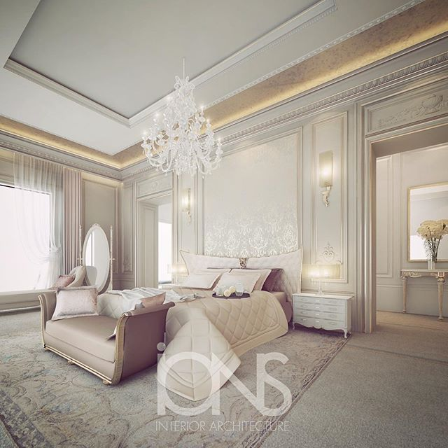 Luxury Home Interiors Bedrooms: Master Bedroom Design • Private Palace •