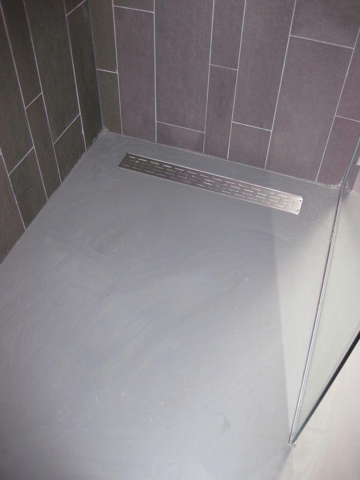 25 beste idee n over douche ruimtes op pinterest kleine grijze badkamers - Kleine badkamer deco ...