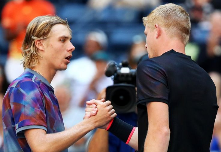 Canadian tennis // US Open 2017 (Day 5) // Picture : Denis Shapovalov & Kyle Edmund (Copyright Getty Images)