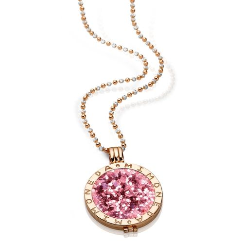 The Silver Dahlia - Mi Moneda Rose Gold Plated Deluxe Pendant Medium, $203.00 (http://www.thesilverdahlia.com/mi-moneda-rose-gold-plated-deluxe-pendant-medium/)
