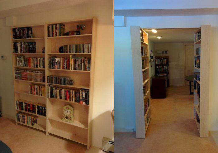 Le rêve de cette porte cachée, de ce passage secret, derrière une bibliothèque, n'est pas...