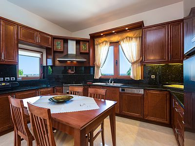 Rethymno villa rental - The kitchen is fully equipped.