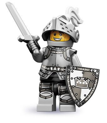 """Heroic Knight -- """"It's all in a day's work for this good knight!"""" 