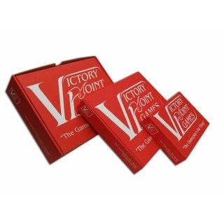 """Victory Point Games' """"Crimson Container"""" box."""