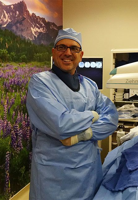 """Dr. Adam Gropper is a board-certified Diagnostic & Interventional Radiologist. He is a lifelong """"techie,"""" and has always been an early adopter and innovator of new technologies in treating vascular problems with minimally invasive approaches."""