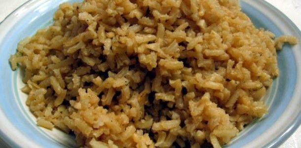 Low Sodium -Dash Diet  Brown-Rice-Pilaf