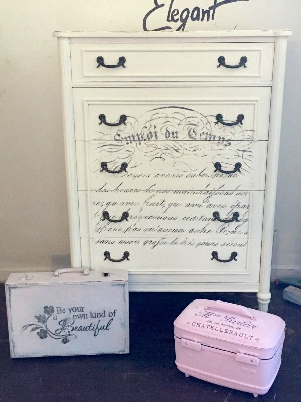 Chalk Paint Dresser Diy