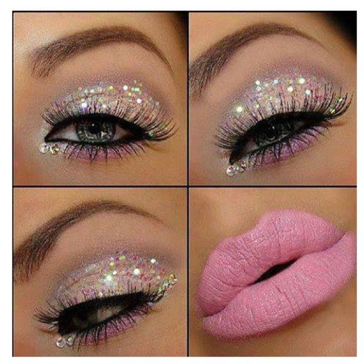 Pretty in sparkle and pink!!!!