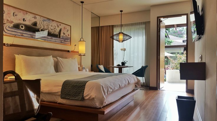 The main bedroom at the Family Block at #padmaresortlegian #familyholiday Architect: #MilesHumphreysArchitect