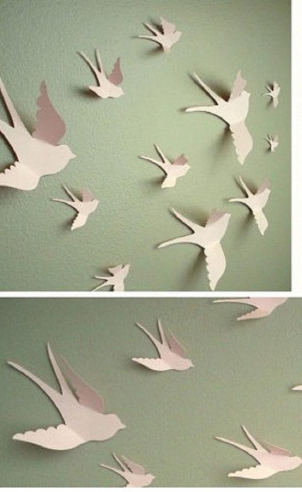 3D vtáčiky