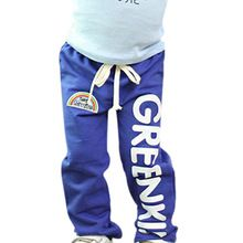 Child Baby Boys Long Pants Trousers Casual Rainbow Pattern Cotton Bottoms 2-6Y //Price: $US $3.83 & FREE Shipping //     #beauty