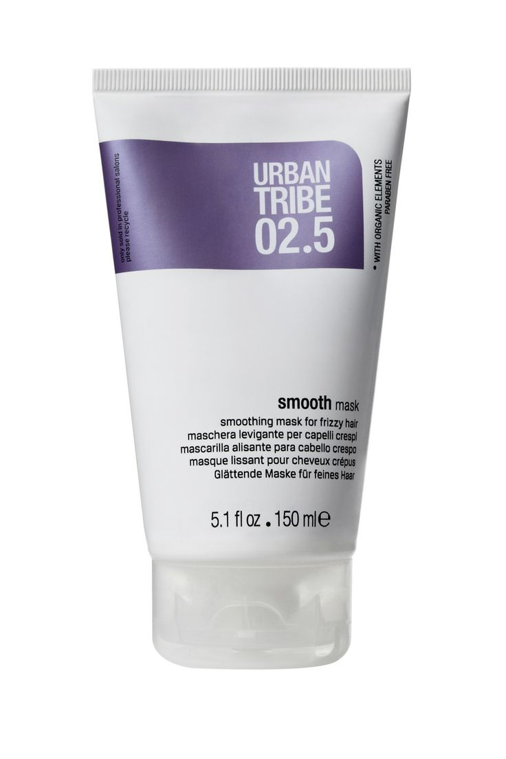 02.5 smooth mask: one of the best products to fight frizzy hair by Urban Tribe haircare.